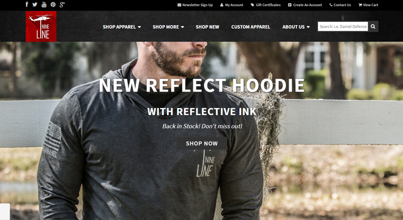 Nineline Apparel – Marketing Firm